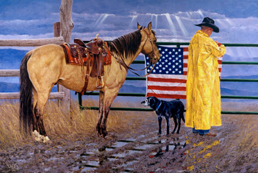 cowboy-flag-lee-cable-just-doin-what-he-can